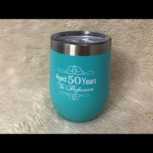 Insulated tumbler with lid & gift box #12